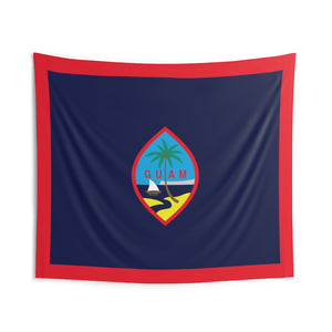 Guam Flag Indoor Wall Tapestry