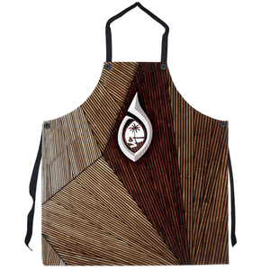 Guam Seal Tribal Hook Apron