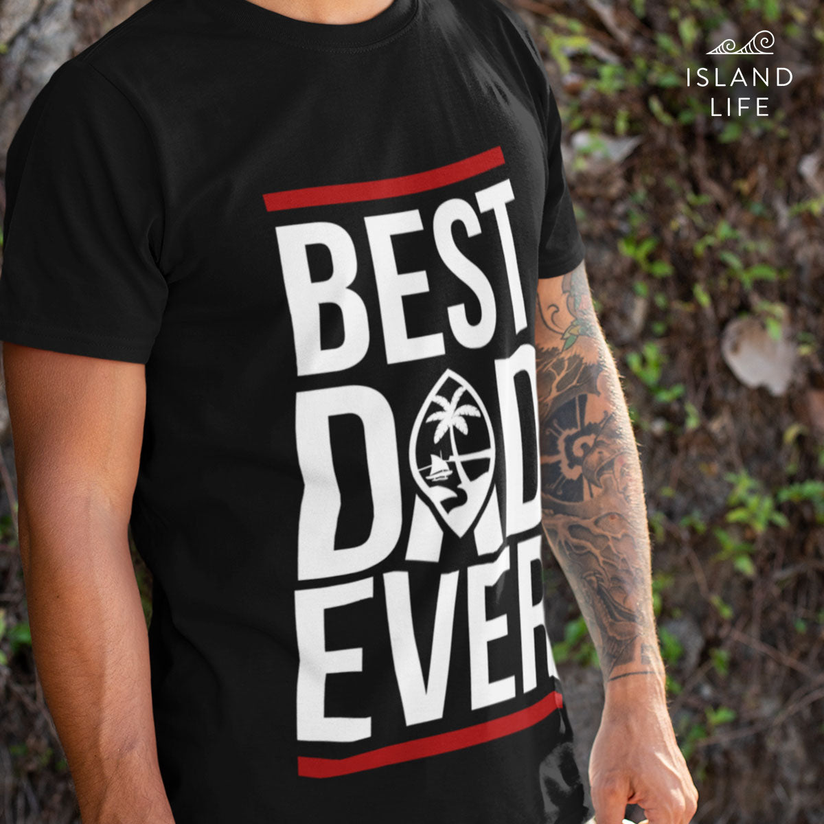 Best Dad Ever Men's Premium T-Shirt