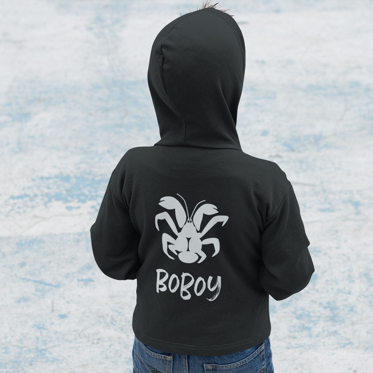 Coconut Crab Boboy Guam Seal Zip Hoodie Jacket