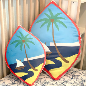 Guam Flag Pillow Custom Shape Cushion Pillow