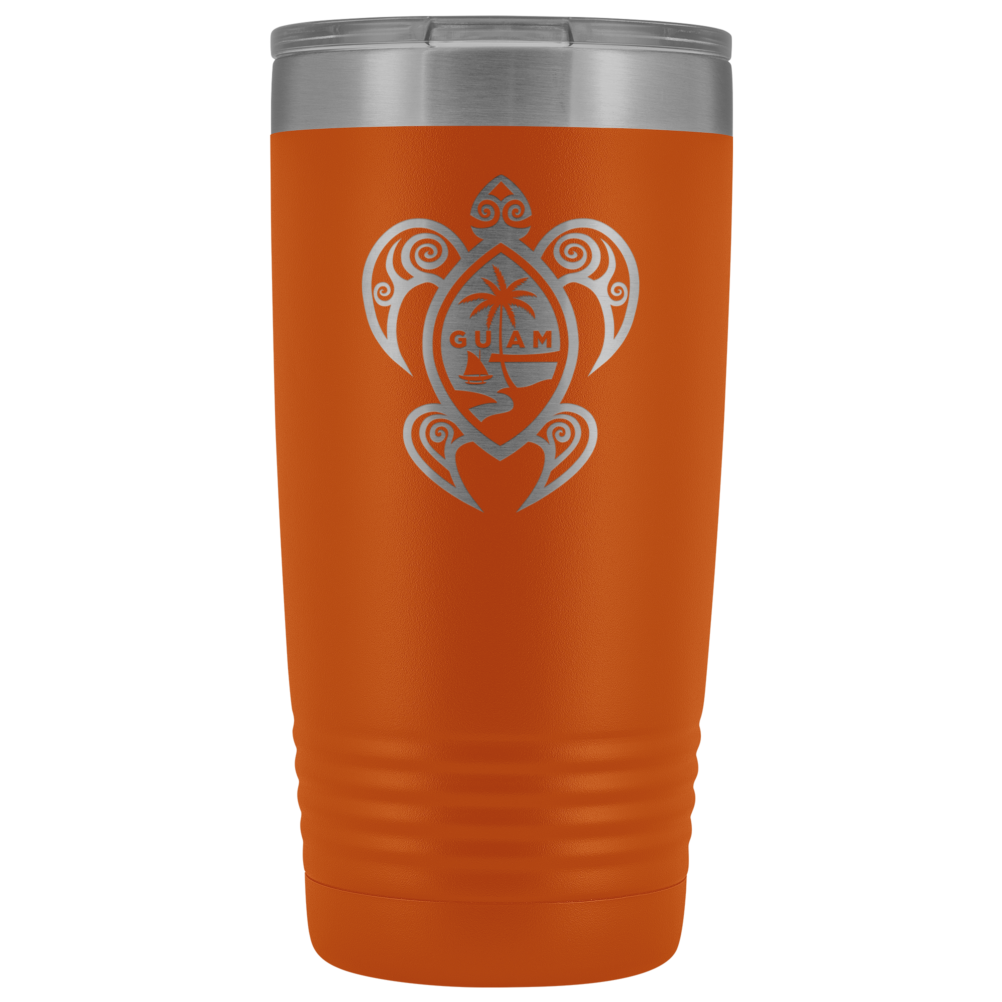 Guam Seal Tribal Turtle 20oz Tumbler