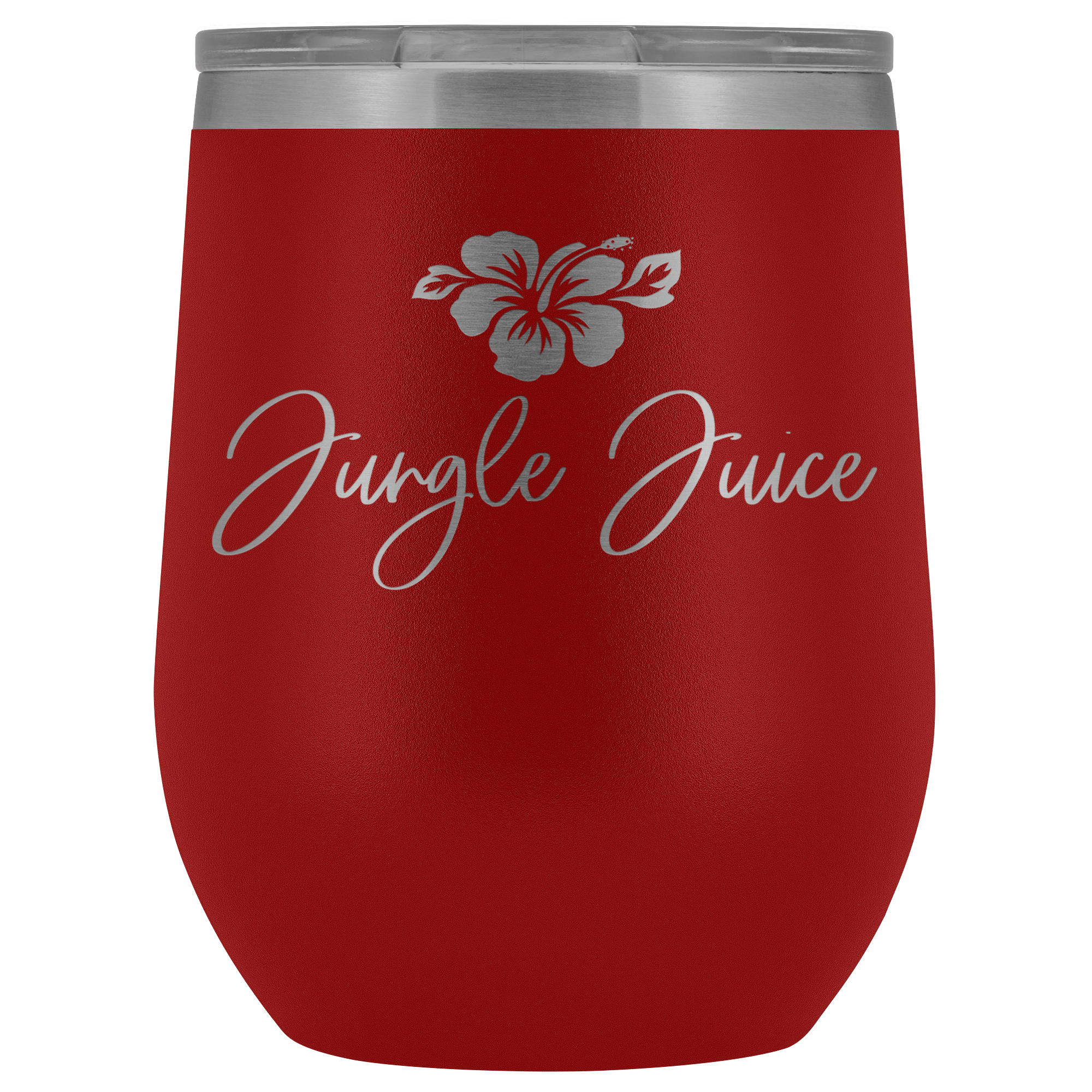 Jungle Juice Guam Saipan CNMI Wine Tumbler