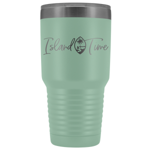Island Time Guam Seal 30oz Tumbler