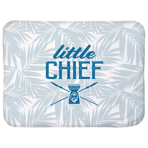 Little Chief Guam Light Blue Baby Sherpa Blanket