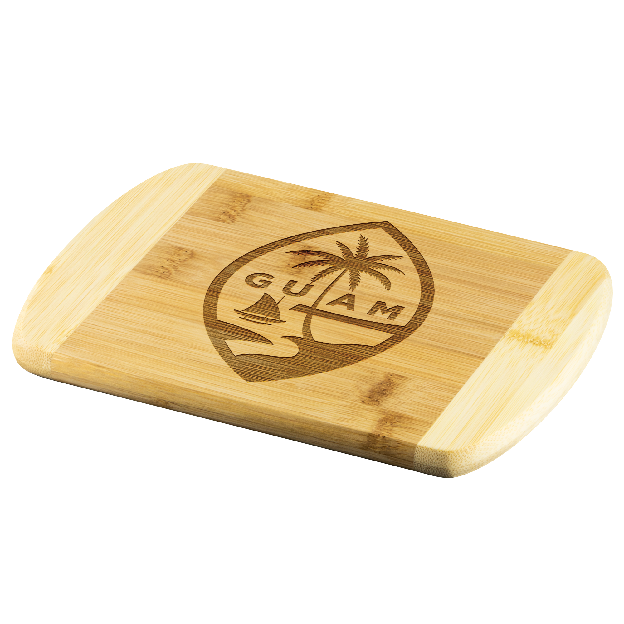Guam Seal Bamboo Cutting Board