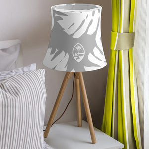 Guam Lemai Leaves Gray Lamp Shade