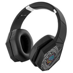 Guam Seal Tribal Wrapsody Bluetooth Headphones