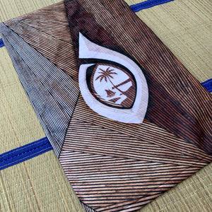 Guam Seal Hook Chamorro Hand Towel