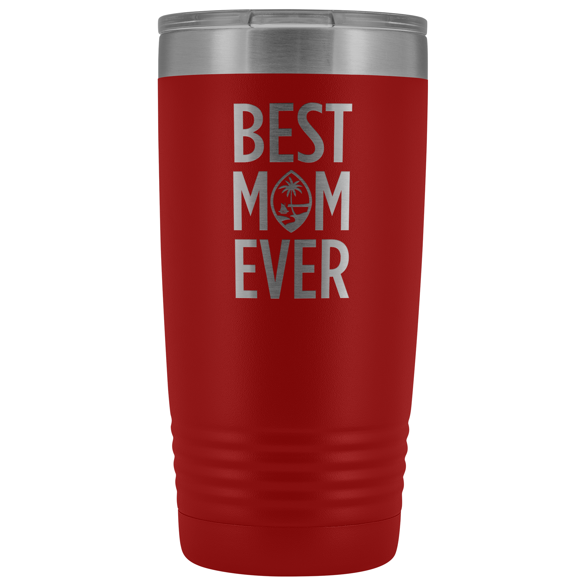Best Mom Ever Guam Seal 20oz Tumbler