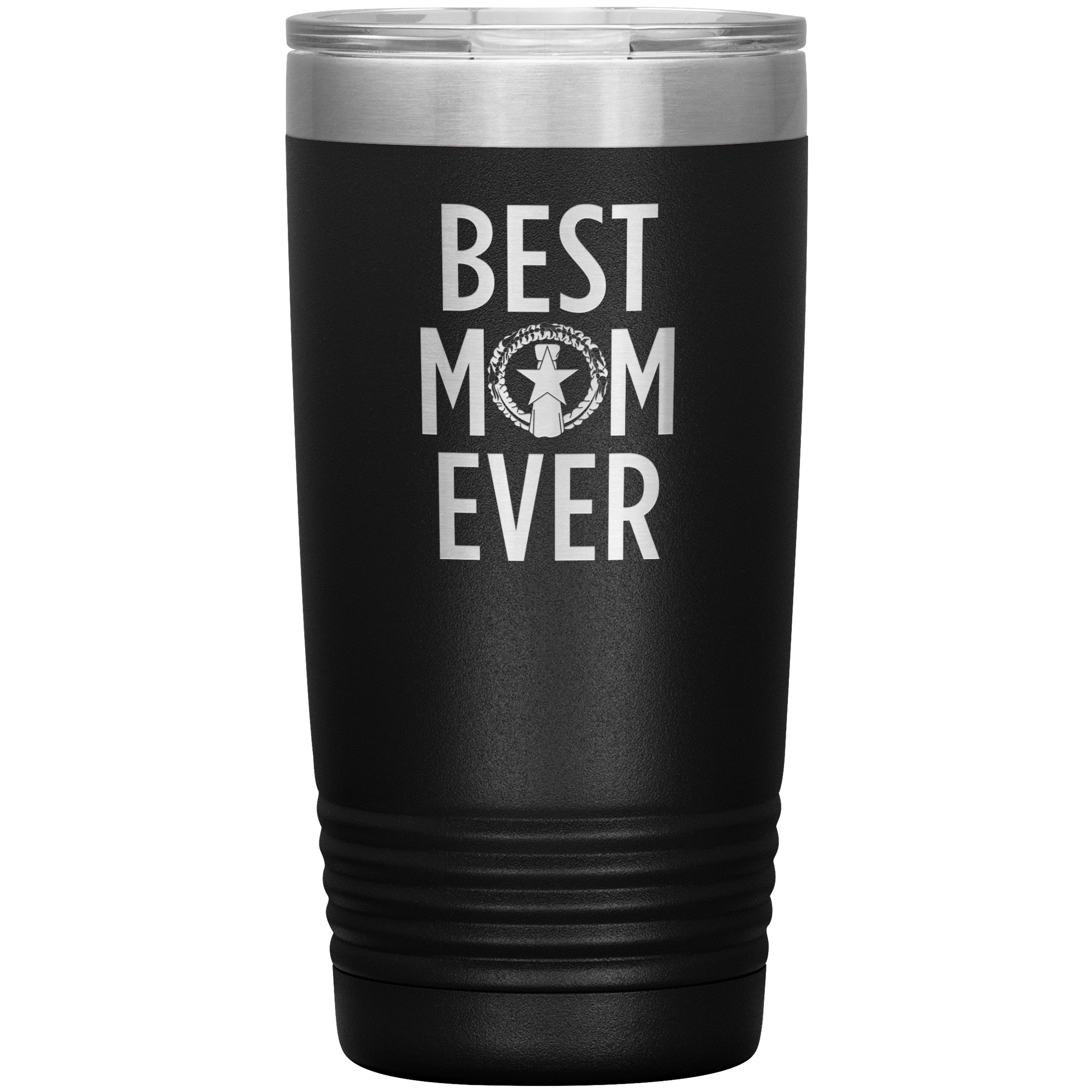 Best Mom Ever CNMI Seal 20oz Tumbler