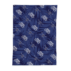 Little Chief Blue Baby Swaddle Blanket