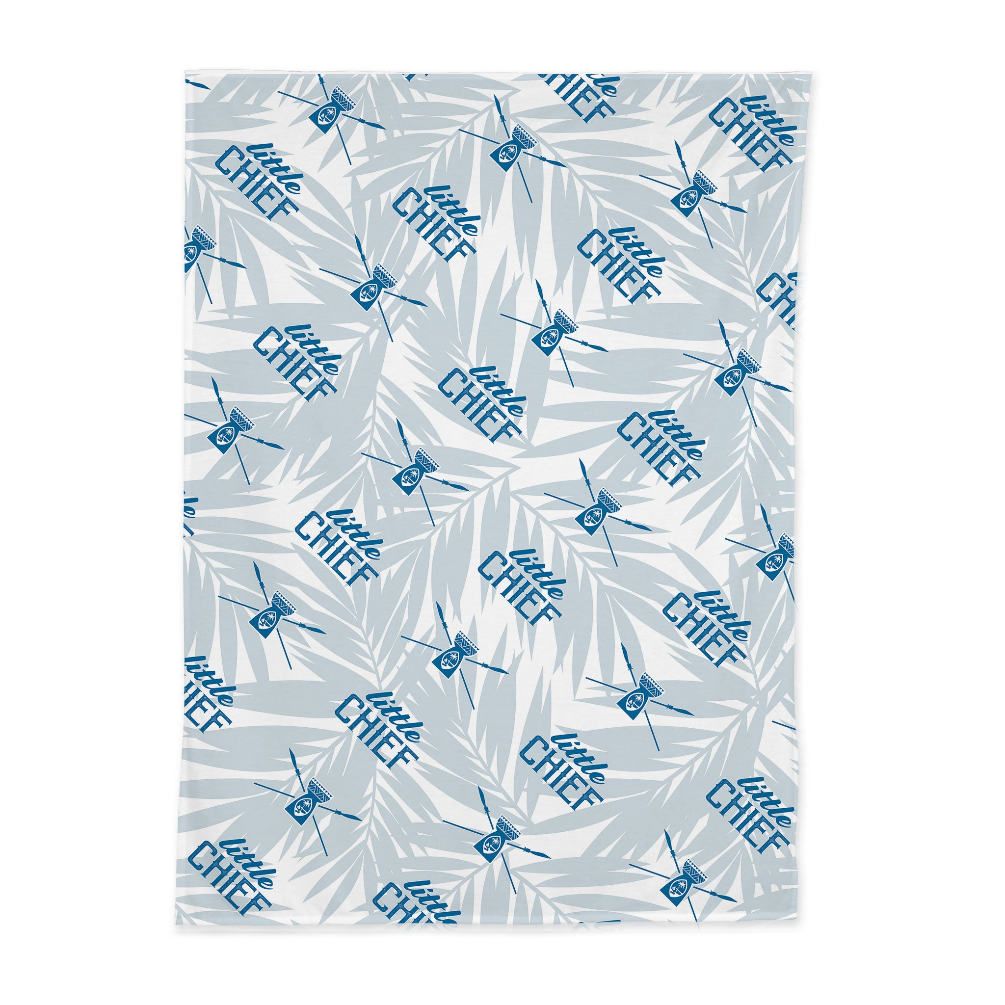 Little Chief Guam Light Blue Baby Swaddle Blanket