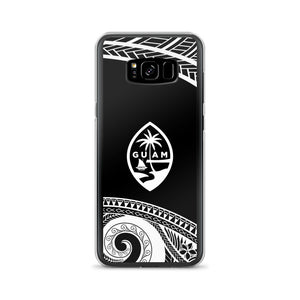 Guam Seal Chamorro Island Tribal Tattoo Samsung Case