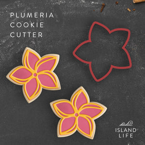 Pointed Plumeria Cookie Cutter