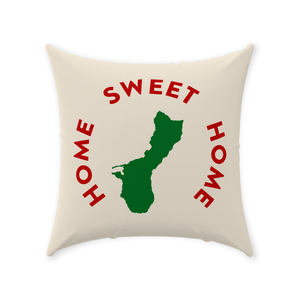 Guam Home Sweet Home Throw Pillow