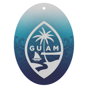 Guam Ombre Waves Air Freshener 3pk