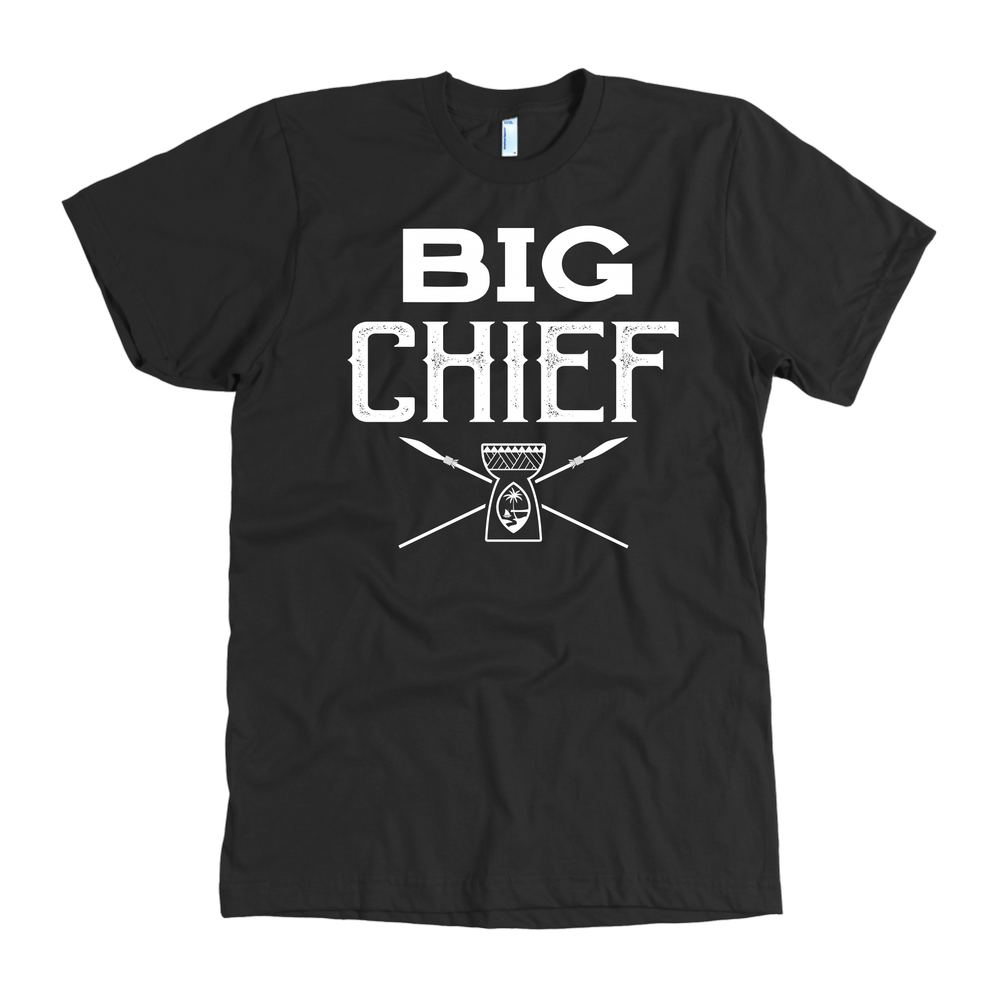 Big Chief Little Chief Guam Latte Stone Father Son Matching Shirt and Onesie