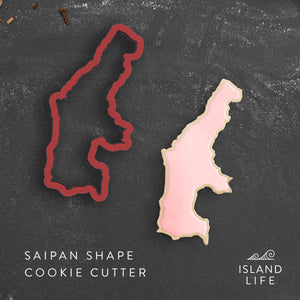 Saipan CNMI Cookie Cutter