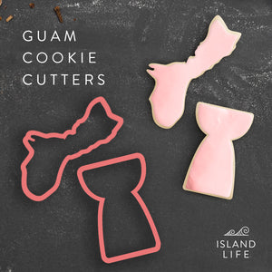 Guam Latte Stone Set of 2 Cookie Cutters - Ready to Ship