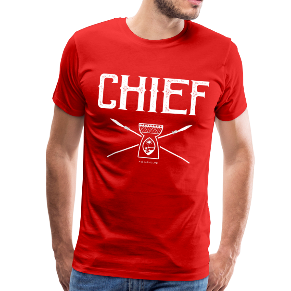 Chief Chamorro Guam Men's Premium T-Shirt - red