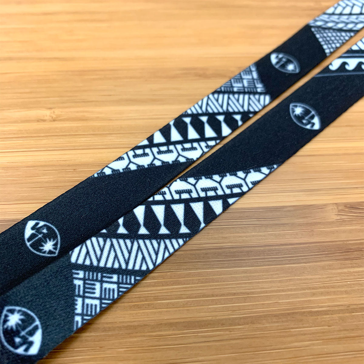 Guam Tribal Black Lanyard - Ready to Ship