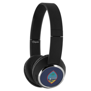 Guam Flag Beebop Bluetooth Headphones