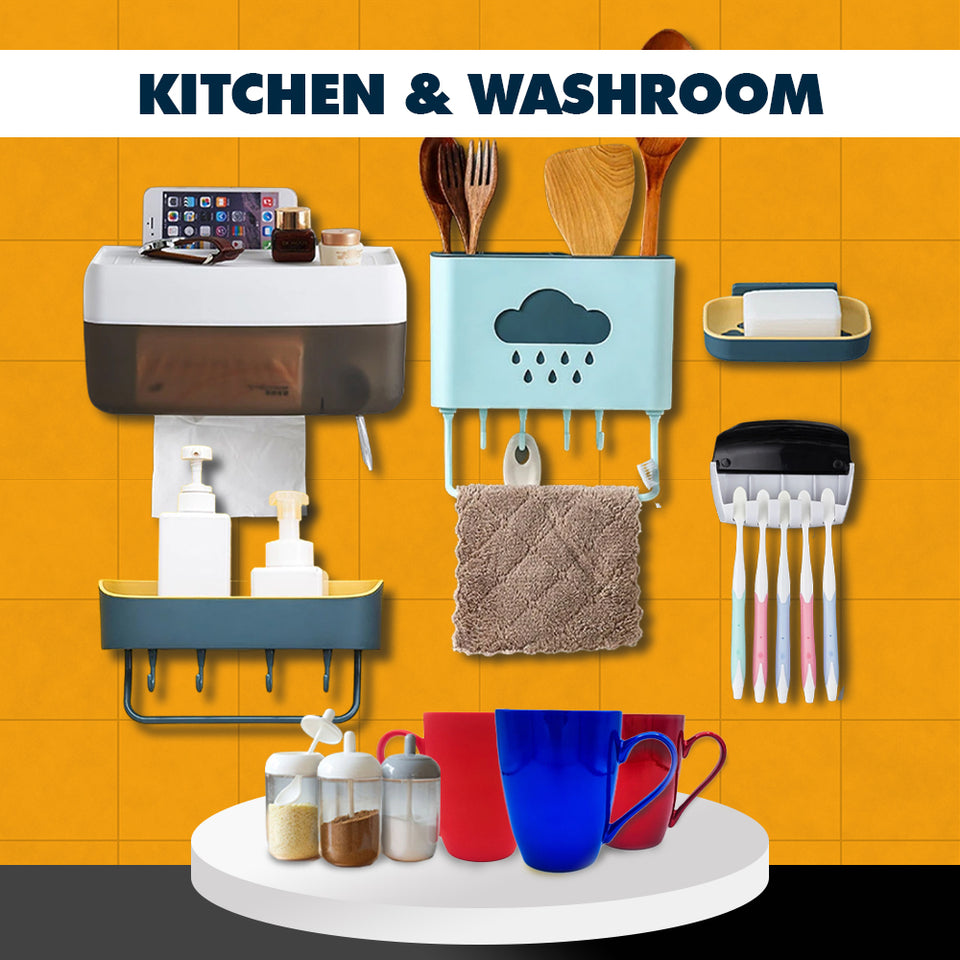 Kitchen & Washroom