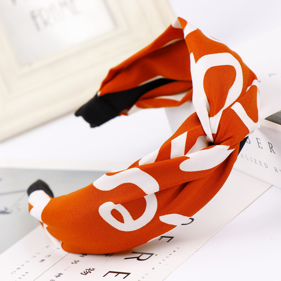 Mix Printed Stylish Fashion Flexible Hairband