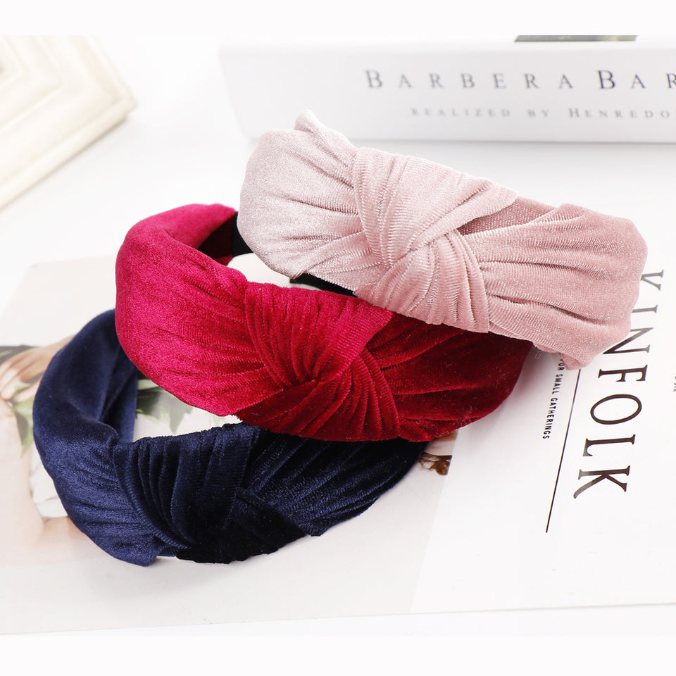 Knot Single Color Hairband