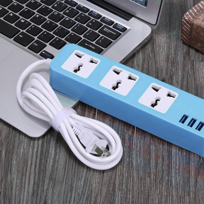 Slim Universal Power Extension with USB Ports