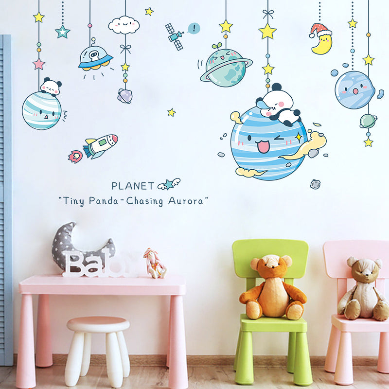 Cartoon Creative Children's Room Bedside Wall Stickers
