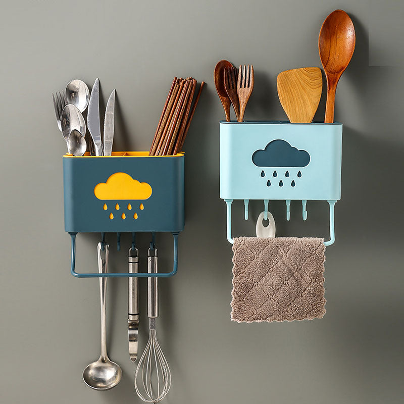 Cloud Motif Kitchen Organizer