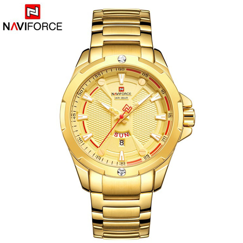 NaviForce 9161 Stylish Decent Quartz Watch