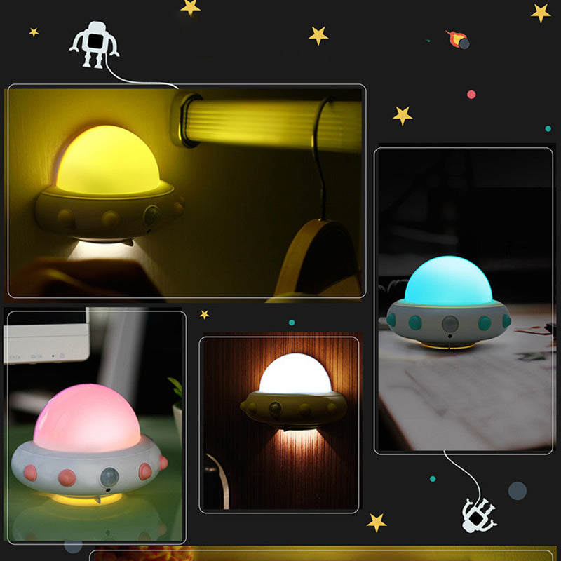 UFO Shaped LED Night Light Lamp With Remote