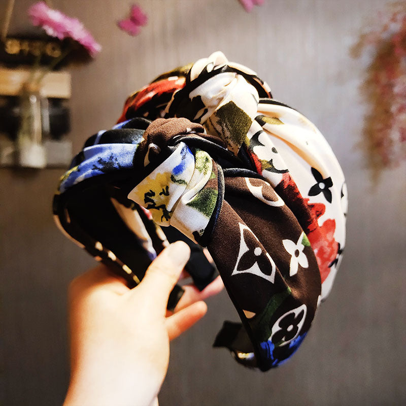 Antique Colorful Hairband For Girls