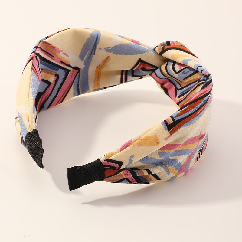 Colorful Knot Hairband for Girls