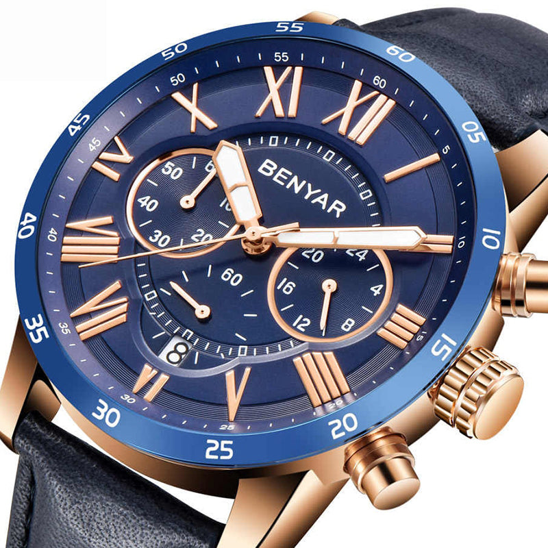 Benyar 5139 Chronograph Wrist Watch for Men