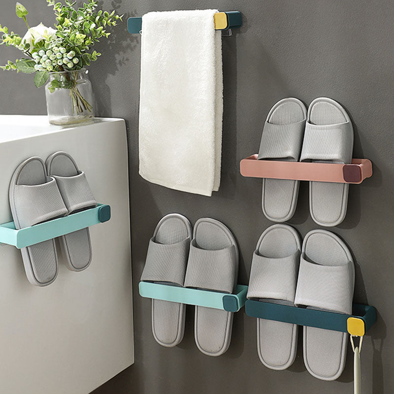 Plastic Wall Mounted Slipper Rack