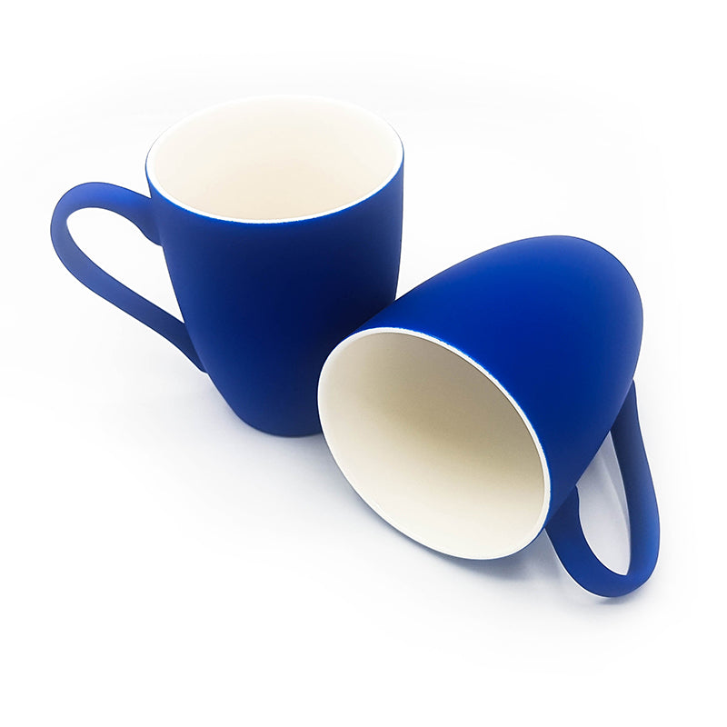 Set of 2 Nordic Style Matte Glazed Ceramic Coffee Cup