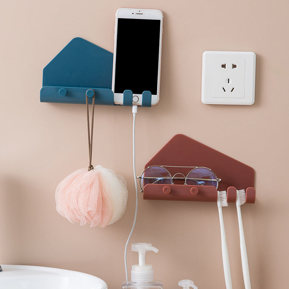 Pack of 2 Wall Mounted Mobile Holder