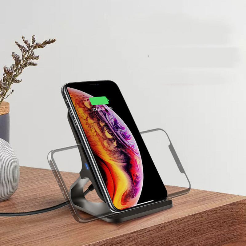 Dual Coil Vertical Wireless Charger