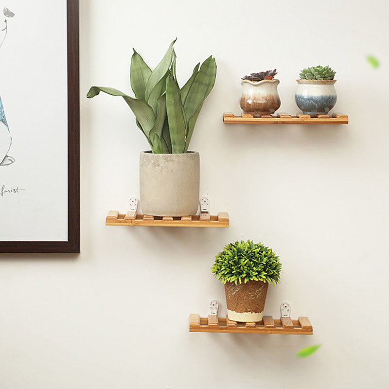 Set of 3 Nordic Style Wall Shelf
