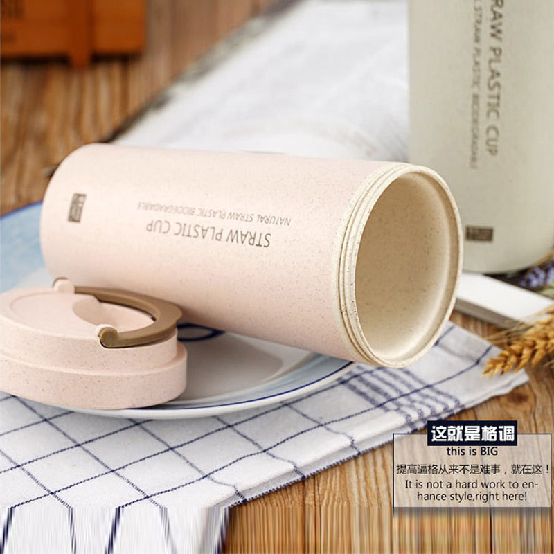 Double Insulated Portable Plastic Coffee Mug