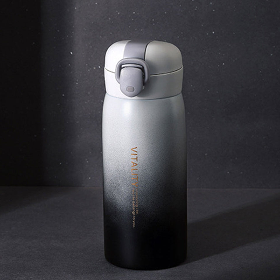Gradient Color Stainless Steel Water Bottle