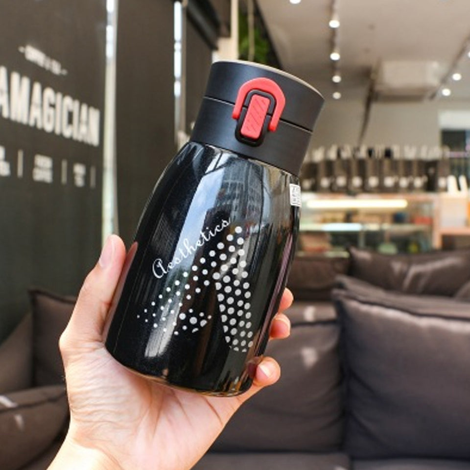 Glossy Stainless Steel Water Bottle