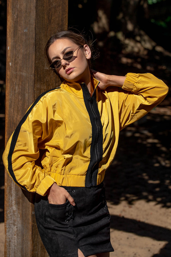 SUNNY CROPPED JACKET - CHICKABERRY BOUTIQUE Australia Womens