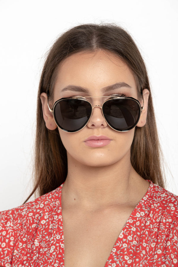 HIGH KEY MINI AVIATOR SUNGLASSES - CHICKABERRY BOUTIQUE Australia Womens