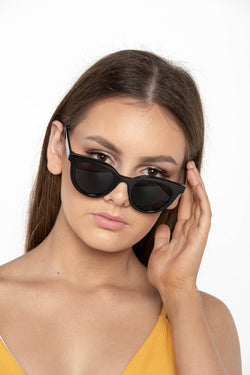 EXPENSE SUNGLASSES BLACK - CHICKABERRY BOUTIQUE Australia Womens