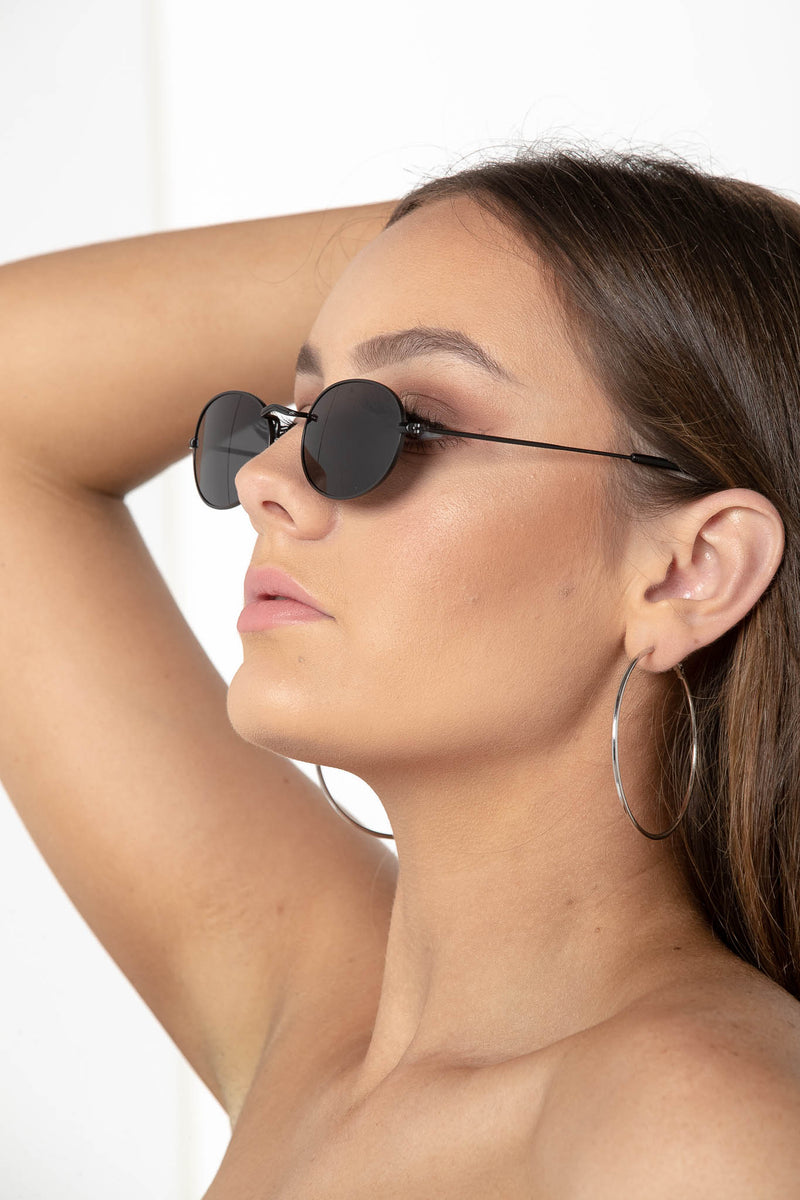 NEMESIS NIGHT OUT RETRO OVAL SUNNIES - CHICKABERRY BOUTIQUE Australia Womens